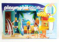 PLAYMOBIL City Life 5641 SURF SHOP Beach Seaside NEW IN BOX
