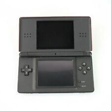 Nintendo DSi Red and Black Game System Tested Working Pink Stylus No Charger