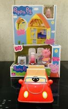 Peppa Pig Peppa's Home and Garden House Red Car Kitchen Figures Playset Toy