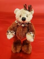 Chestnut by Sally Lambert Miniatures - 6cm - handmade artist teddy - OOAK