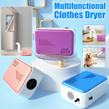 800W Portable Mini Electric Clothes Dryer Machine Folding Drying Home Dormitory