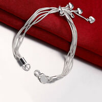 Stainless Steel Heart or Filigree Medical Alert ID Replacement Bracelet Strand