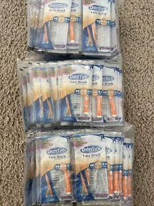 BULK LOT 108 DenTek Easy Brush Interdental Cleaners Mint Fluoride Single Wrapped