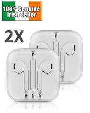 2 PACK Earphones Ear Pods Earbuds for Apple iPhone 4 5 6 7 Headphones Mic