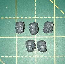 Sanguinary Guard Head Set B (bare) Warhammer 40k Bits Blood Angels Space Marines