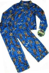 Teenage Mutant Ninja Turtles Sleepwear boys 8 M 10-12 L Pajamas New Flannel