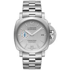 Panerai Luminor Marina Steel 42 mm Silver Dial Automatic Watch PAM00977 PAM 977