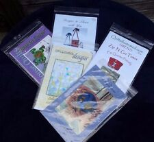 Lot of 5 Sewing & Quilting Patterns