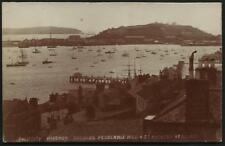 Falmouth Harbour, Pendennis Hill & St Anthony Headland by E.A.Bragg.