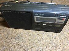 SONY ICF-M50RDS 3 Band FM/MW/LW Portable RDS Radio