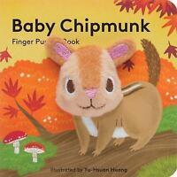 Baby Chipmunk: Finger Puppet Book  Good