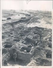 1940 Aqueduct Race Track Remodeling Construction Press Photo