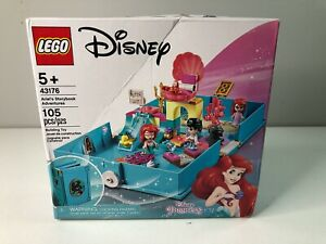 LEGO Disney Ariel's Storybook Adventures 43176 Building Kit NEW Dinged Box. A4