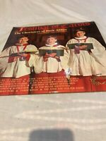 "FESTIVAL OF CAROLS THE CHORISTERS OF BATH ABBEY 1968 12"" VINYL LP RECORD"