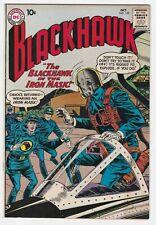 Blackhawk #153 7.5 VF- The Blackhawk in the Iron Mask Olaf Superman DC Comics