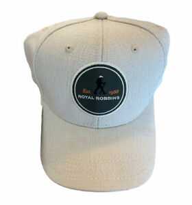 NEW Royal Robbins Strider Cap, One Size upf 50+ protection 1SIZE Soapstone Cream