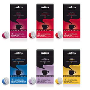 Lavazza Espresso Capsules Compatible with Nespresso Original Machines Variety Pa