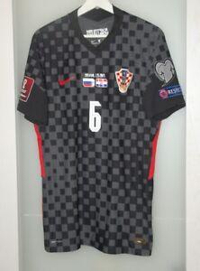 Match worn shirt Croatia national team WC 2022 Liverpool England Lovren size L