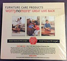 Stainsafe Furniture Care Wood Leather Fabric Cleaning Products WORRY NO MORE Kit