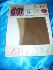 RAR echte Vintage Nylons Nylonstrümpfe Gr. 9,5 palma 83-85 cm 20 den EWI Bas OVP