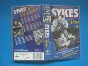 SYKES AND A BATH (1961) Eric Sykes, Hattie Jacques - 3 BBC EPISODES - RARE VHS