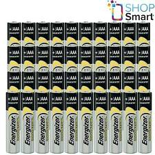 40 ENERGIZER AAA ALKALINE LR03 BATTERIES 1.5V INDUSTRIAL MICRO MN2400 AM4 E92