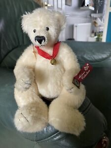 Vintage Russ Teddy. 100% Pure Mohair. Limited Edition With Authenticity Tags.