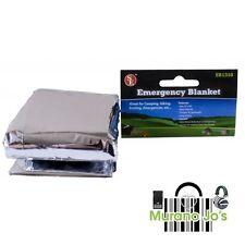(2)Emergency Thermal  Mylar Lot Emergency Survival Blanket First-aid Prep Kit