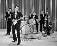 1958 Singer BUDDY HOLLY & The Crickets Glossy 8x10 Photo Musical Print Poster