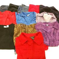 Womens Size 20 Plus Clothes Lot 11 Piece Mixed Pants Blouses Tops Shorts Jacket