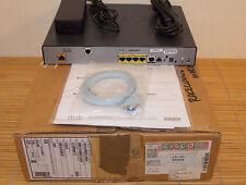 NUOVO Cisco 887v-sec-k9 VDSL 2 over POTS Security Router NEW OPEN BOX