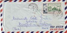 CAMEROUN - M'BAHUAYO - LE 18-6-1954 - N°44 SEUL SUR LETTRE POUR LA FRANCE - LIBE
