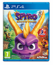 Spyro Trilogy Reignited (PS4, 2018)