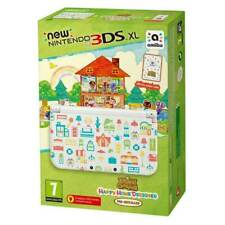 New Nintendo 3DS XL Console Animal Crossing + 3 Extra Games + Free Charger