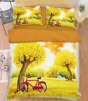3D Grassland Nature 7 Bed Pillowcases Quilt Duvet Cover Set Single Queen King CA