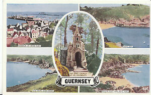 Channel Islands Postcard - Views of Guernsey   ZZ2462