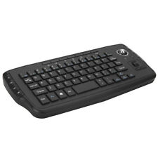 E30 2.4GHz Wireless Keyboard with Trackball Mouse Scroll Wheel Remote J9X2