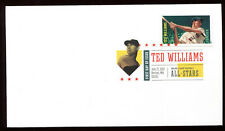 #4694 Ted Williams FDC Digital Color Postmark DCP Great for Add-on FD6474