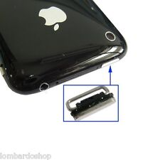 TASTO PULSANTE ESTERNO POWER ON/OFF ACCENSIONE PER IPHONE 3G 3GS NUOVO