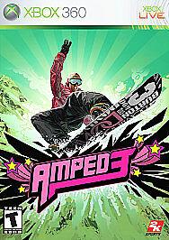 Amped 3 (Microsoft Xbox 360, 2005) Complete