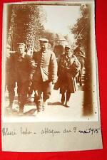 PHOTO VINTAGE -GUERRE 1914 1918 PRISONNIER ALLEMAND BLESSE 9 MAI 1915 BOCHE