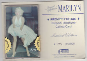 Marilyn Monroe - phonecard - Premier Edition