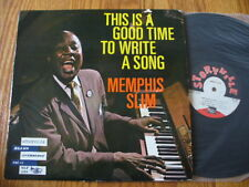 MEMPHIS SLIM This is a good time to write a song lp