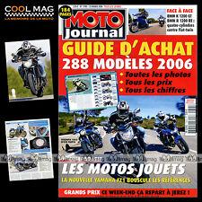 MOTO JOURNAL N°1705 BMW K 1200 GT & R 1200 RT, KAWASAKI Z 1000, YAMAHA FZ1 2006
