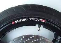 GSXR Wheel rim stickers decals gsx r 400 600 750 1000