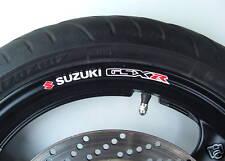 Suzuki GSXR Wheel rim stickers gsx r 400 600 750 1000