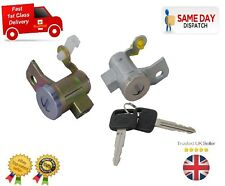 ISUZU D-MAX 2002-2010 NEW LOCKSET FRONT PASSENGER DRIVER DOOR LOCK BARREL & KEYS