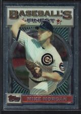 MIKE MORGAN 1993 TOPPS FINEST #188 BASE CARD CUBS