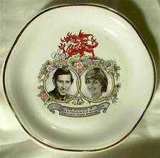 Ringtons Palissy Plate Trinket Dish China 1981 Wedding Lady Diana Prince Charles