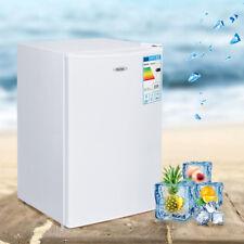Kühlschrank mit Gefrierfach Kühl Schrank Gefrierkombination Freistehend 123L A+